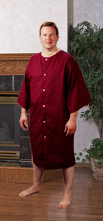 WeberWEAR Physical Therapy Gown 1