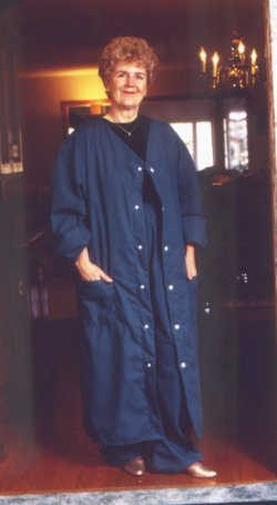 WeberWEAR Scrub Fabric Robe & Pants